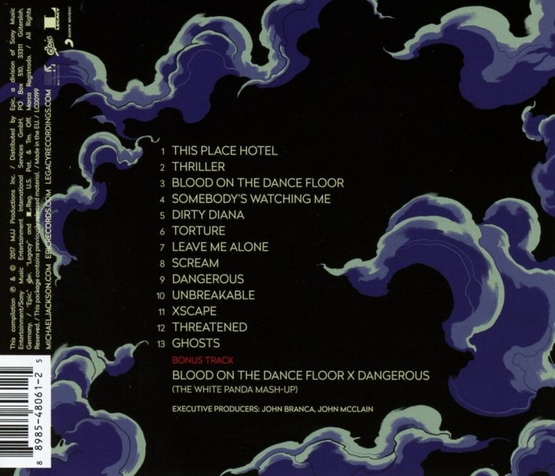 Michael Jackson - Scream - Track List